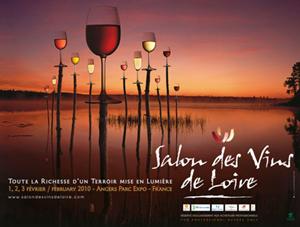 Salon des Vins de Loire (1, 2 et 3 février 2010 à Angers)