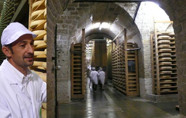 Claude Querry dans le Fort St.Antoine, la cathédrale du Comté.(TB)