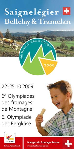 La Radio du Gout aux 6ème Olympiades des fromages de montagne (Suisse)