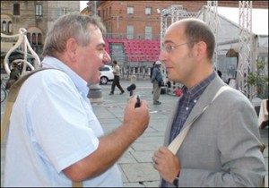T.Bourgeon avec Fabrizio Raimondi (photo:N.B)