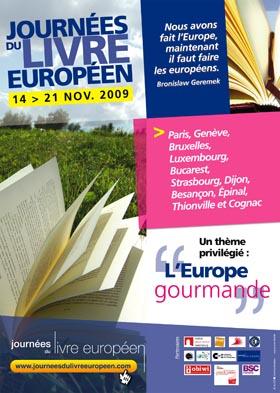 Les Journée du Livre Européen sur le thème du Goût.