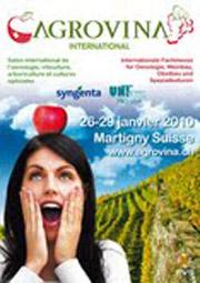 8ème édition Salon Agrovina (Suisse)