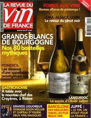 La Revue du vin de France est en kiosque