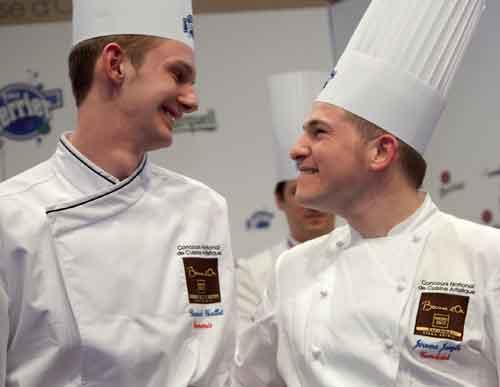 Jérôme JAEGLE, lauréat du Concours National de Cuisine Artistique
