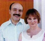 Gérard et son épouse Nina