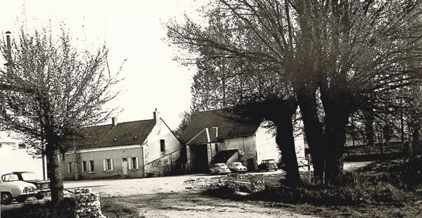 La ferme de la laiterie, dans les années 50
