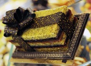 Le gâteau de voyage du tsar © Café Pouchkine