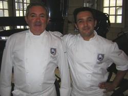 Gérard et Sébastien Girardeau. Charcutiers-traiteurs à Saumur