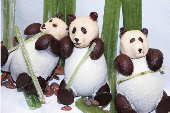 La Radio du Goût a aimé: les pandas en chocolat de Christian Constant