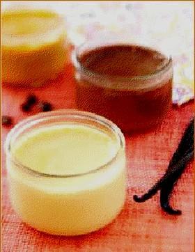Petit pots à la vanille