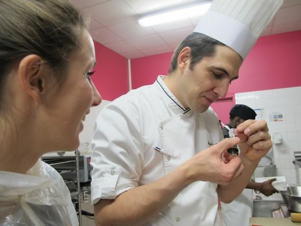 Atelier de design et de photographie culinaire au lycée Guillaume Tirel