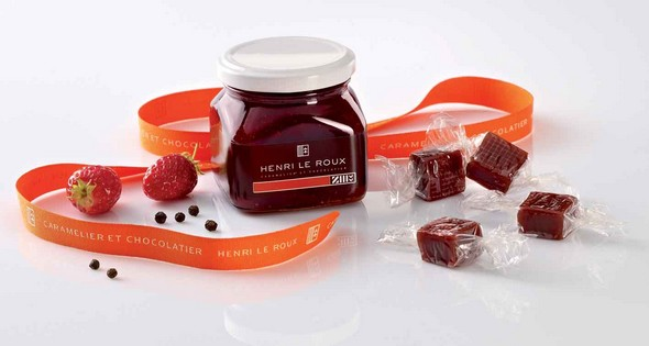 confiture fraise-poivre