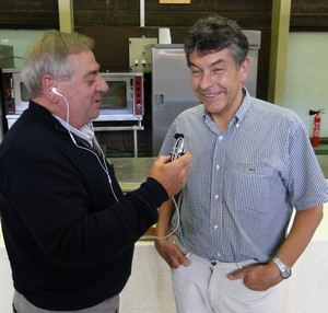 Régis Marcon au micro de la Radio du Goût