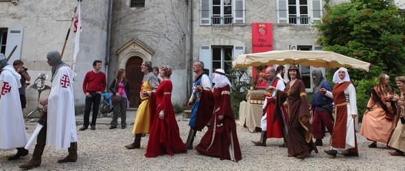 fêtes médiévales au Château Bardins©DR