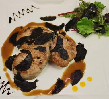 Salade de ris de veau tièdes aux copeaux de Truffes