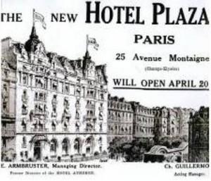 L'Hôtel Plaza Athénée: un centenaire gourmand!