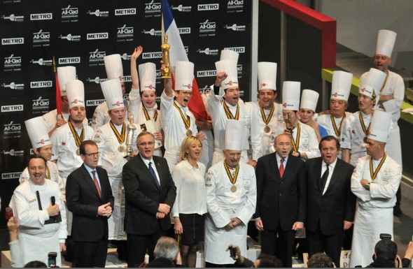Bocuse d'or 2013: le sacre du roi de France Thibaut Ruggeri
