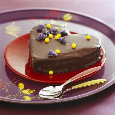 Gâteau tendre au chocolat