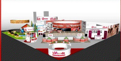 La viande s en paye une tranche au salon international de for Porte de versailles salon agriculture 2016