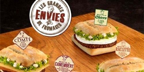 Et un McDo Camembert!