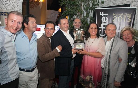 Fabrice Vulin vainqueur de MarrakChef 2013