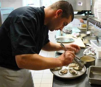 Le Chef Damien Eliard ©G.C/laradiodugout.fr
