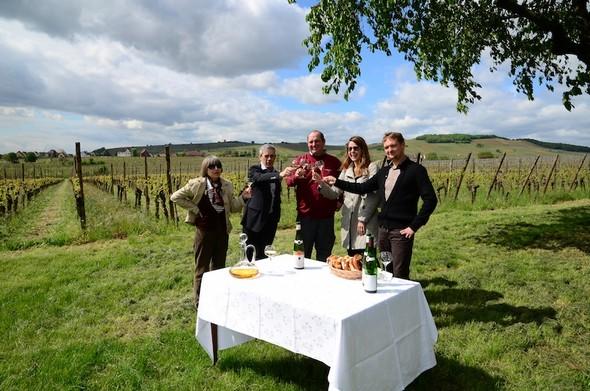 La « Route des Vins d'Alsace »  fête ses 60 ans.