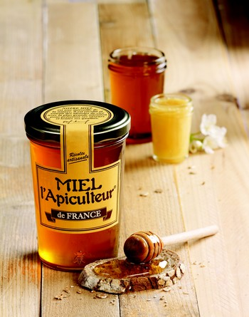 La Radio du Goût a aimé: les grands crus de miel en pot de verre