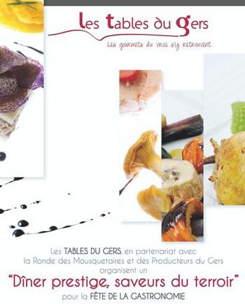 La Radio du Goût aime: Les Tables du Gers
