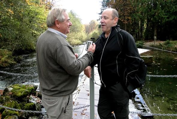 Interview sur les bords de la rivière Weaver Creek/ laradiodugout.fr