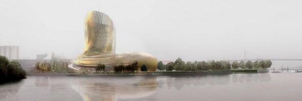Bordeaux: Coup d'envoi de la Cité des civilisations du vin
