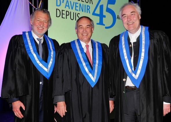 Montréal: Diplômes pour Pierre Gagnaire et Hervé This