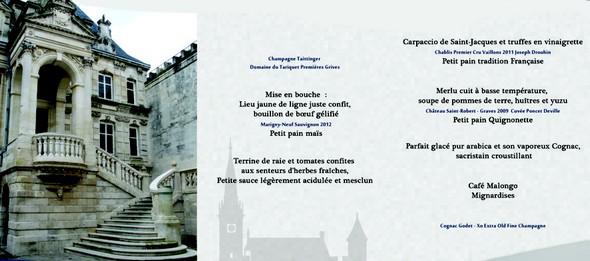 Repas pour la reconstruction de la mairie de La Rochelle