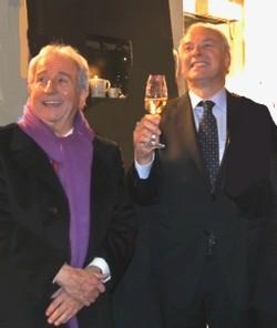 Michel Guérard, honoré par le prix François Rabelais