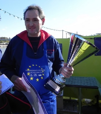 PIRES Francisco, champion d'Europe des Ecaillers 2013