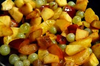 Poêlée de fruits aux épices