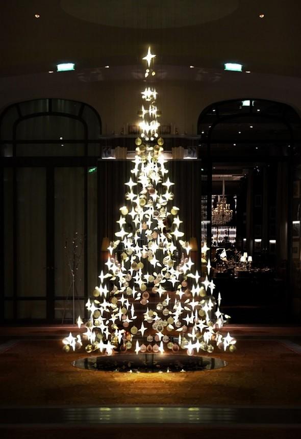 La Radio du Goût a aimé: le sapin de Noël du Royal Monceau
