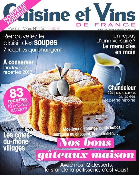 Cuisine et vins de france nouvelle formule for Cuisine et vins de france
