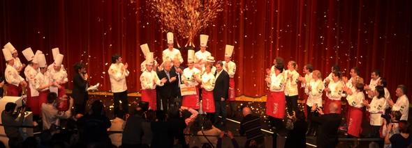 Le podium du trophée Jean Rougié 2014