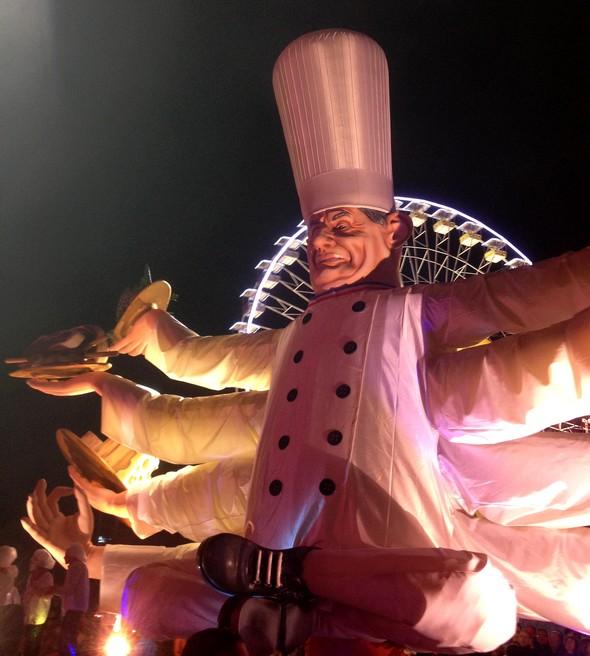 Monsieur Paul au caranaval de Nice