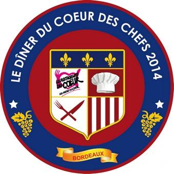 Dîner du coeur des chefs à Bordeaux