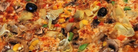 La pizza éternelle!