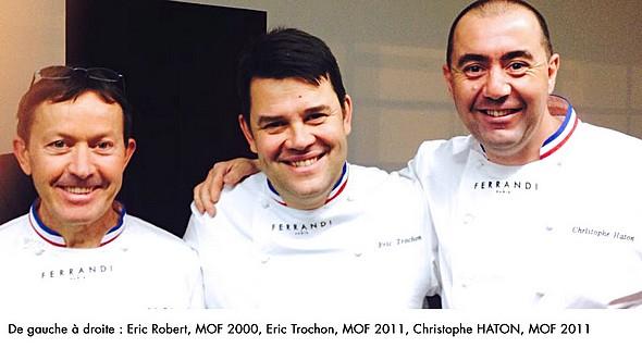 Christophe Haton,MOF 2011 rejoint  FERRANDI Paris
