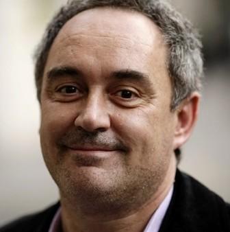 Ferran Adria présente la Fondation elBulli