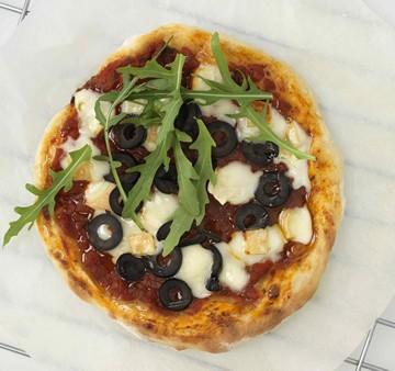 Pizza au Reblochon de Savoie