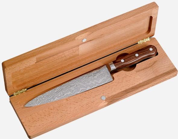 le couteau Damas par Jean Dubost