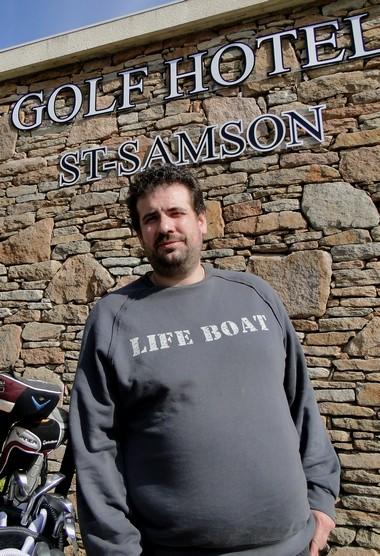 Nicolas le cuisinier des golfeurs ©laradiodugout.fr