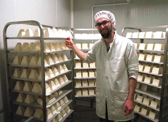 Wilfried Falcotet, jeune producteur fermier de Pouligny-St-Pierre AOP