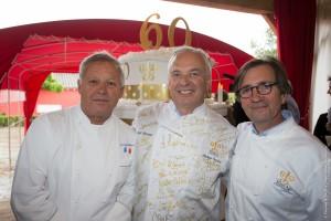Georges Blanc, Philippe Gombert, Olivier Roellinger