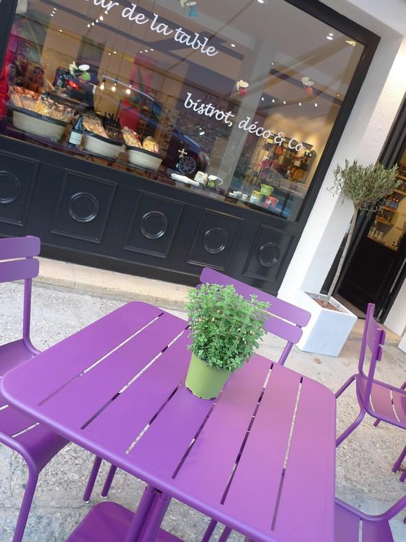 table extérieure de l'Ardoise ©DR